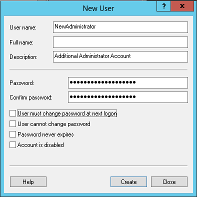 How To Create Additional Administrator Accounts for Windows