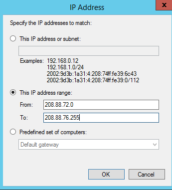 Restrict RDP Access by IP Address - 1  Frontline