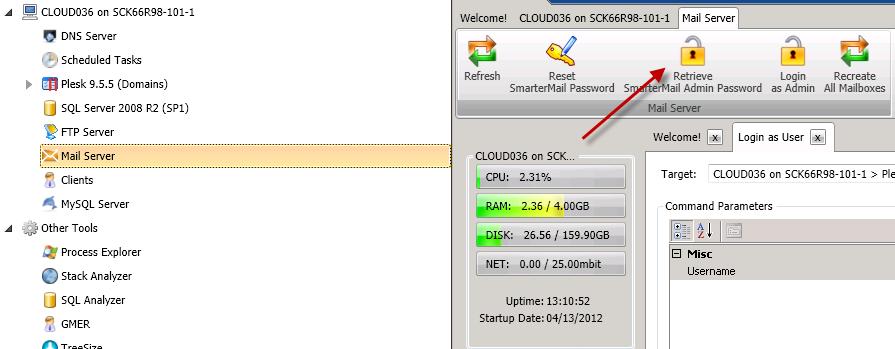 How to Retrieve Passwords Using Control Suite - 1  Frontline