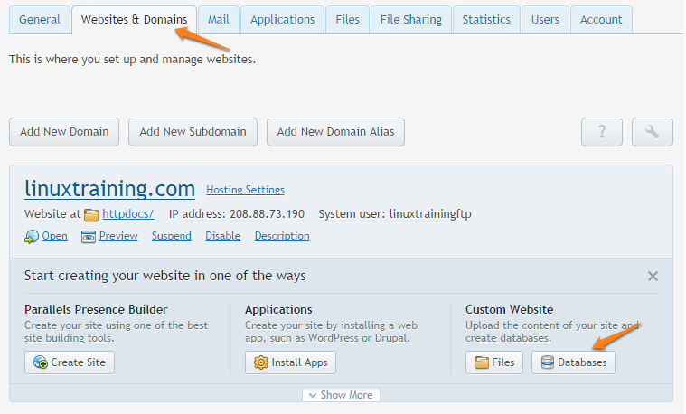 How to Install WordPress on a Managed com Plesk Server Manually