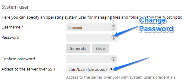 How to change Plesk to Allow SSH/SFTP Connections Per Domain