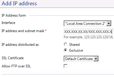 Plesk 9 add IP address